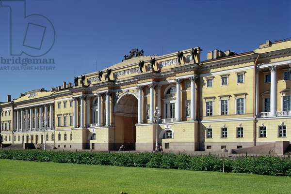 The Senate and Synod, built in 1829-34 (photo)