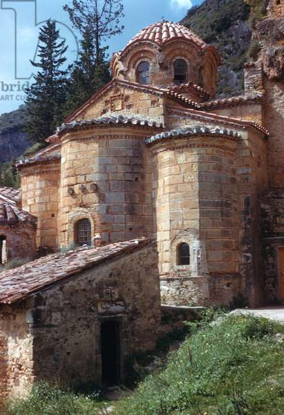 Exterior from the north east, Peribleptos church (photo)