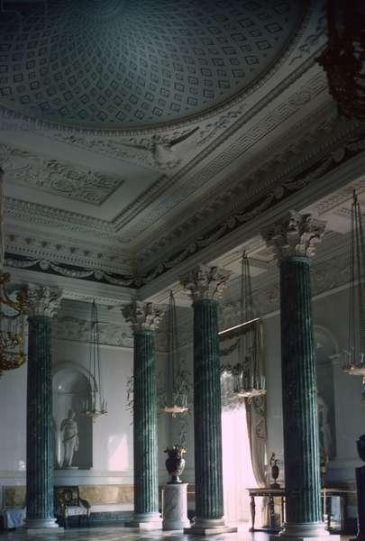 Pavlovsk Palace, Grecian Hall (photo)