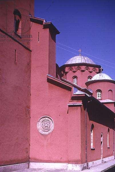 Zica Monastery Church, built 1207-20 (photo)