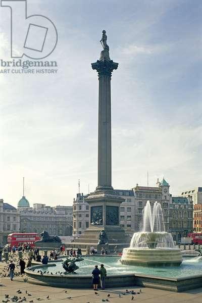 Nelson's Column, built 1840-43 (photo)