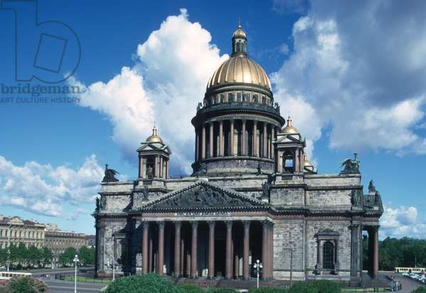 Exterior of St. Isaac's Cathedral (photo)