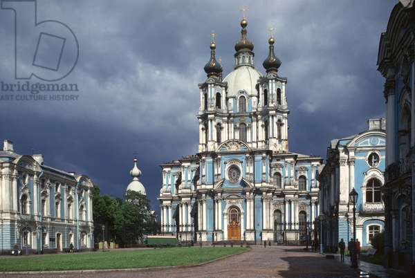 Smolny Convent and Cathedral of the Resurrection (photo)