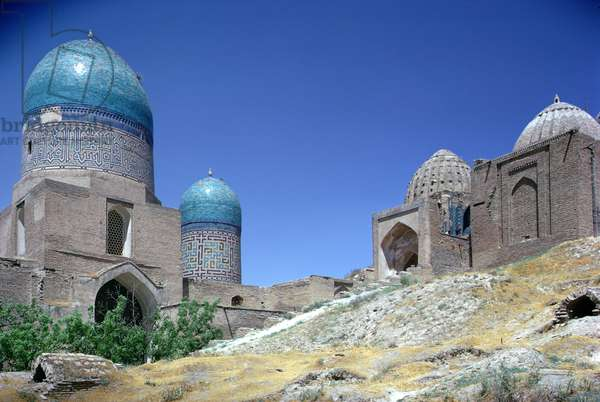 Lower group of mausoleums, Timurid period, 15th/16th century (photo)
