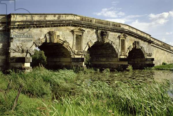 The bridge from the north-west, Castle Howard, North Yorkshire (photo)