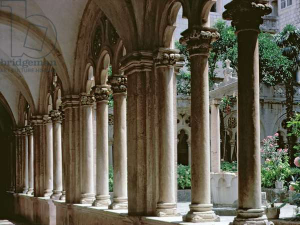 The cloister (photo)