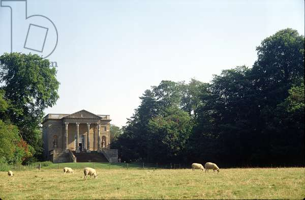 View of the Queen's Temple from the south (photo)