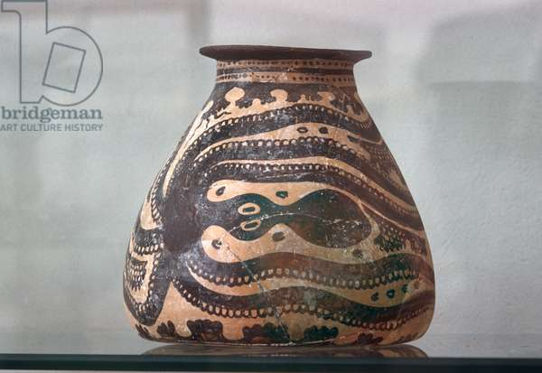 Octopus vase from Knossos, c.1500 BC (photo)