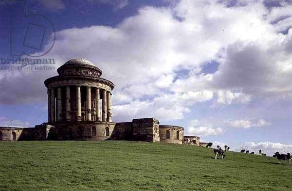 The Mausoleum from the west, Castle Howard, North Yorkshire (photo)