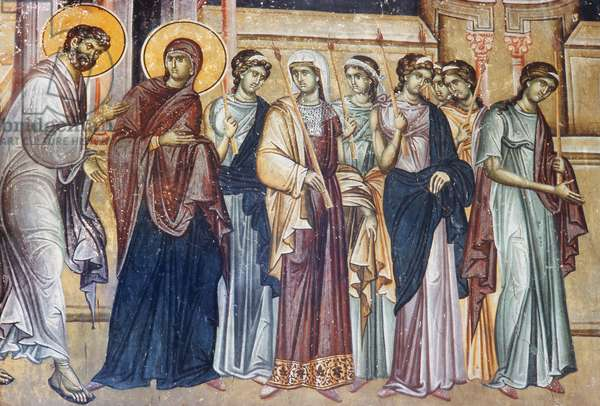 Presentation of the Virgin in the Temple (fresco)