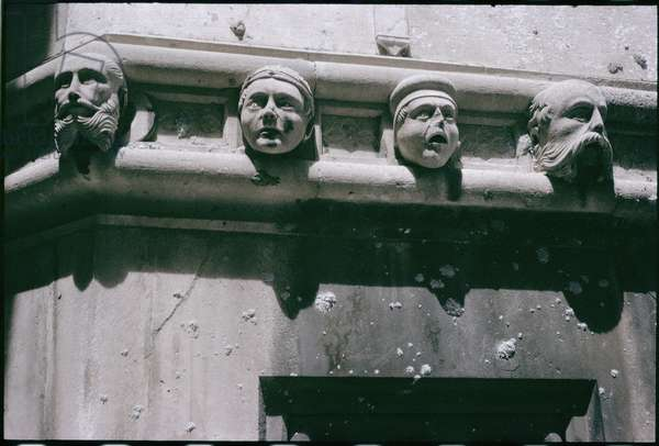 Gargoyles on the cathedral, built 1443 (stone)