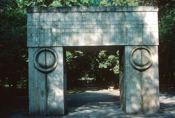 The Gate of the Kiss, 1938 (marble)