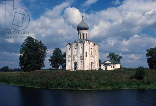 Church of the Intercession of the Holy Virgin on the Nerl (photo)
