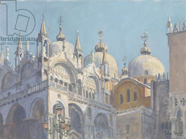 Domes of San Marco, 2009 (oil on canvas)