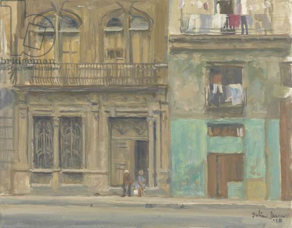 Havana House Front, 2010 (oil on canvas)
