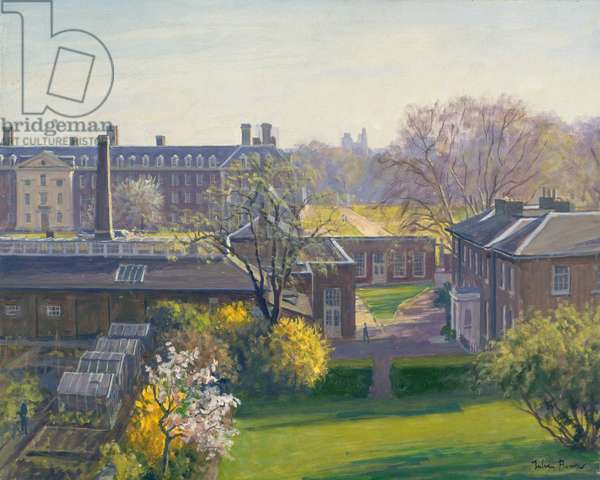 Royal Hospital from 33 Tite Street (oil on canvas)