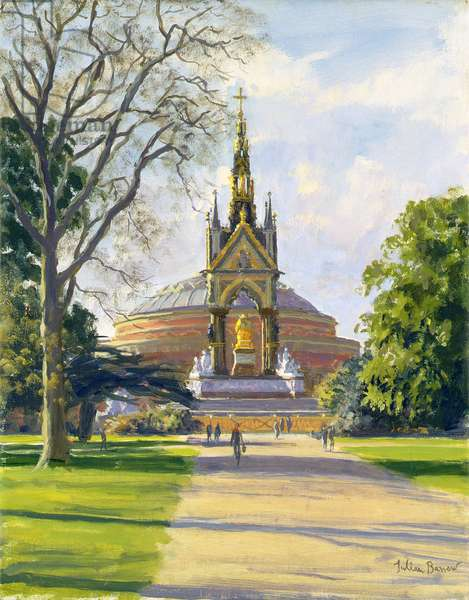 The Albert Memorial (oil on canvas)