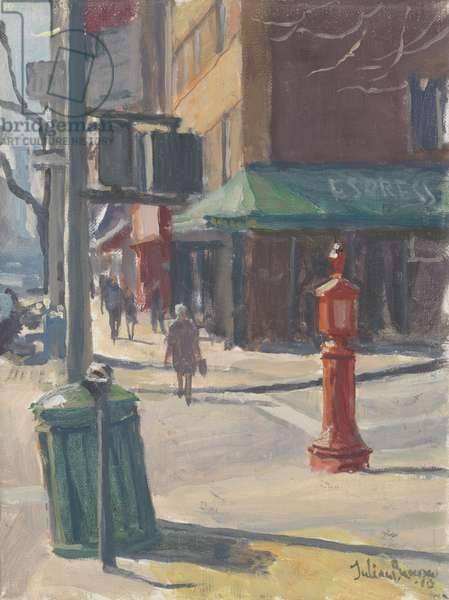 Lexington Avenue, 2010 (oil on canvas)