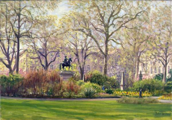 St. James's Square (oil on canvas)