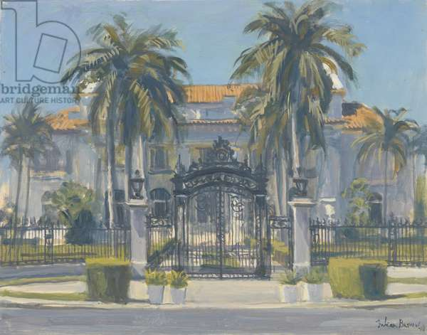 Flagler Museum, Palm Beach, 2010 (oil on canvas)