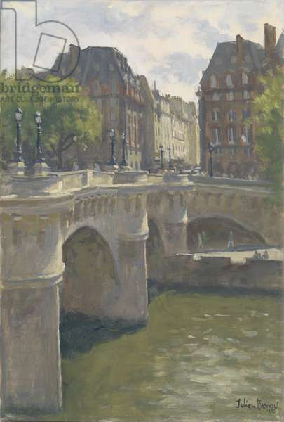 Pont Neuf, 2010 (oil on canvas)