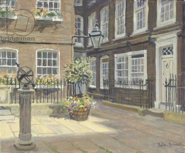 Pickering Place, St. James's (oil on canvas)