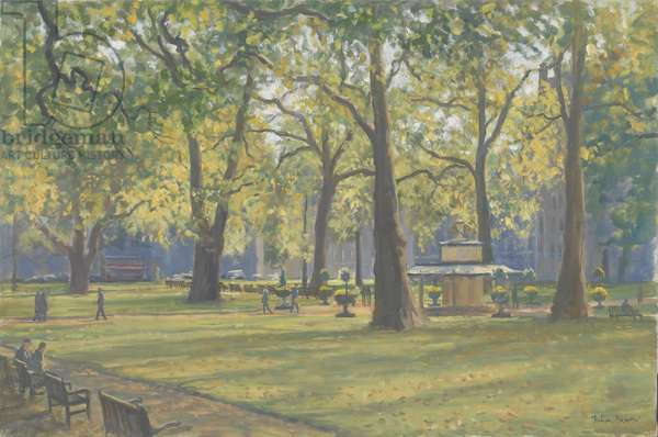 Berkeley Square, 2009 (oil on canvas)