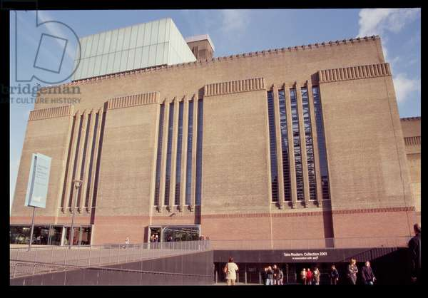 View of the entrance, 1995-99 (photo)