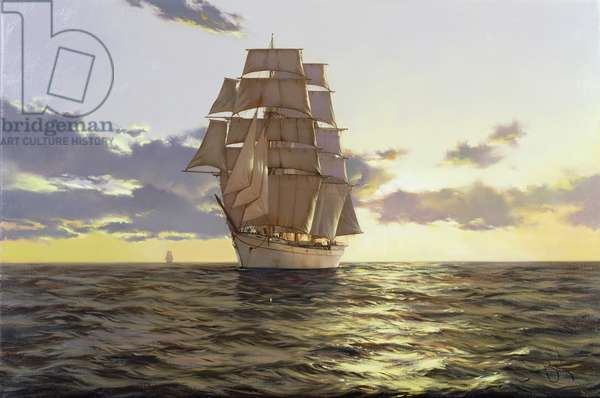 The Stately Ship, 2009 (oil on canvas)