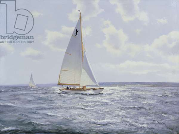 The Shimmering Sea, 2005 (oil on canvas)