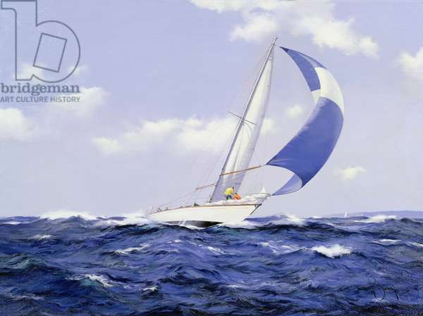 Setting More Sail, 2005 (oil on canvas)