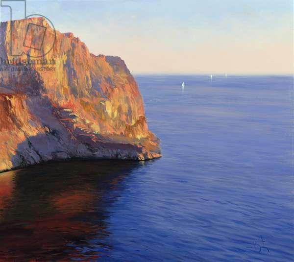 Majorca, 2007 (oil on canvas)