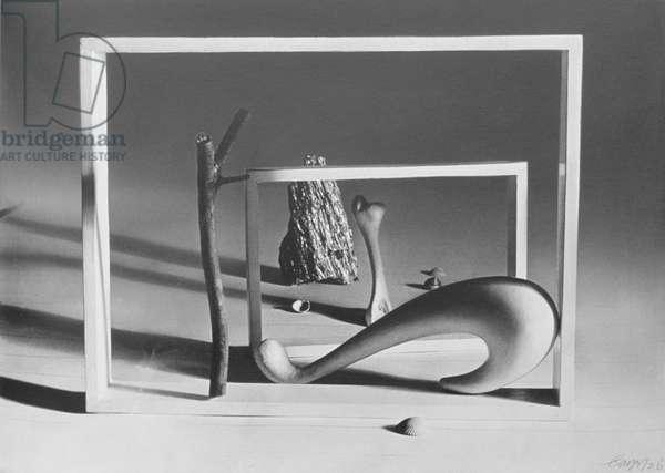 Shortly Before Dawn, 1936 (silverprint)