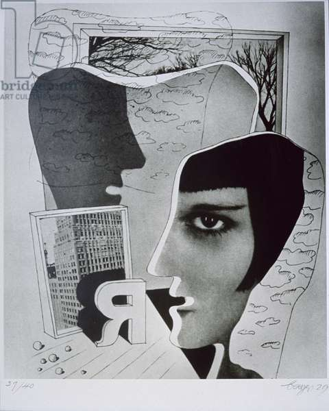 Profil en Face, 1929 (silverprint)