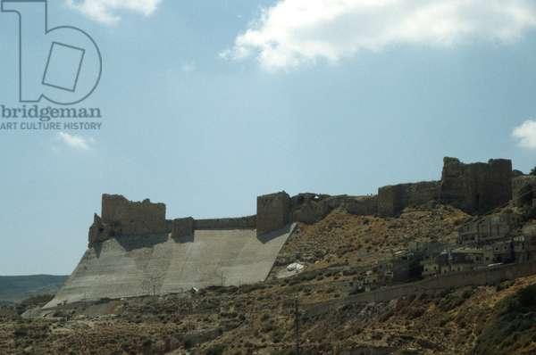 The Crusader castle of Karak (photo)