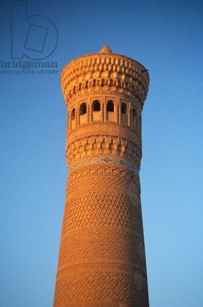 The Kalon Minaret (photo)