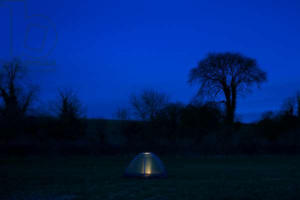 Tent at Twilight