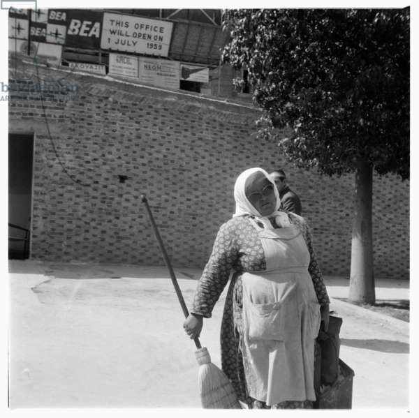 Greece, images of Athens and wider Greece, early 1950's (b/w photo)