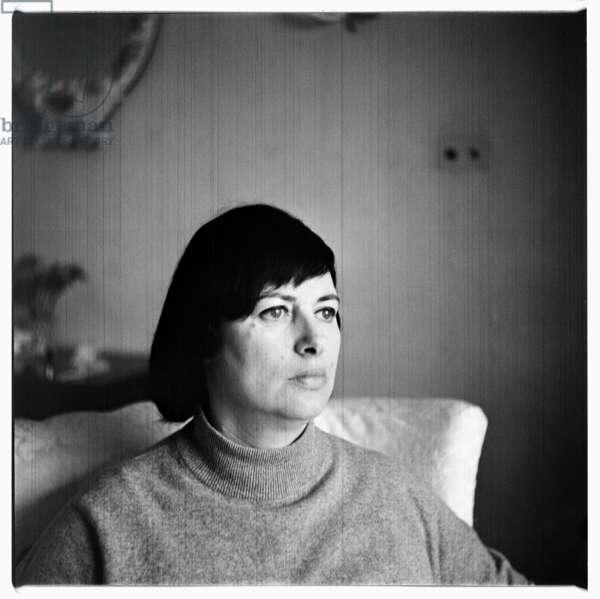 Portrait of unknown woman, London 1960's