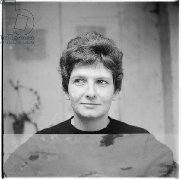 Woman, mid 1950's (b/w photo)