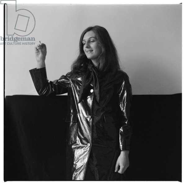 Christine Oestreicher, c.1965 (b/w photo)