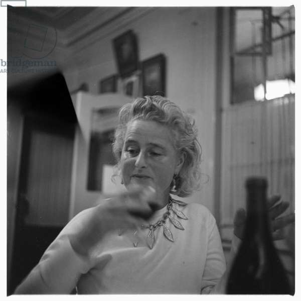 Caitlin Thomas, c.1955 (b/w photo)