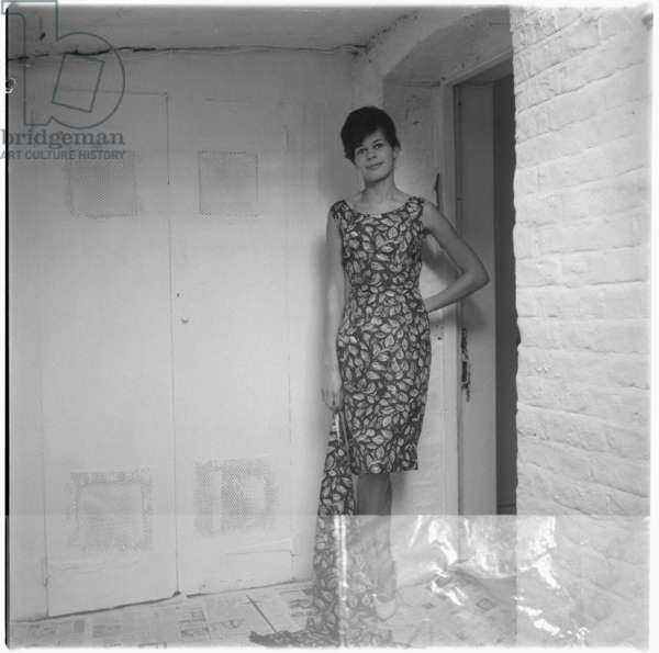Gwen, London, UK, mid 1950's (b/w photo)