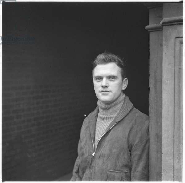Frank Boutell, London, UK, mid 1950's (b/w photo)