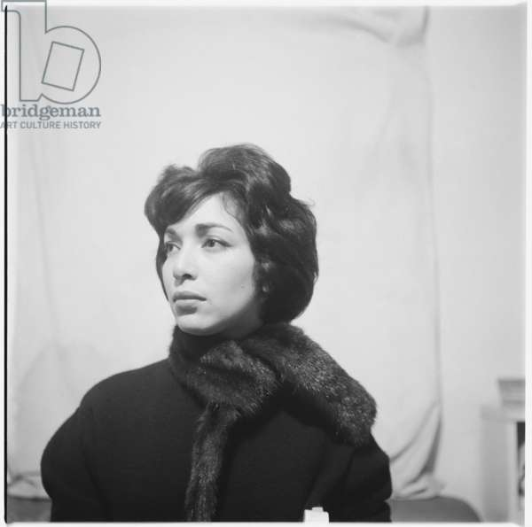 Gloria, mid 1950's (b/w photo)