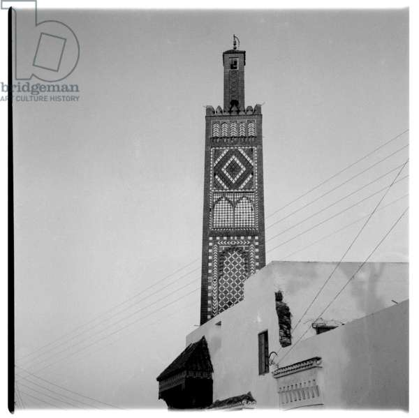 Images of Tangier and wider Morocco, early 1960's (b/w photo)
