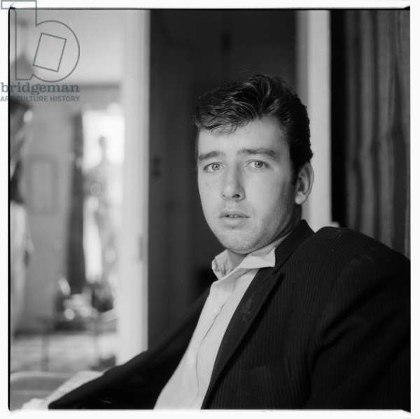 Portrait of unknown man, possibly Rome, early early 1950's