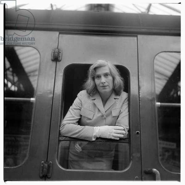 Rose McLaren, c.1962 (b/w photo)