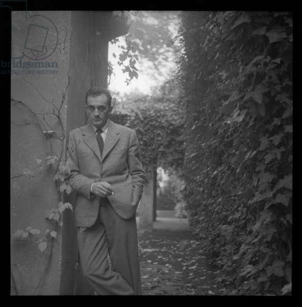Luchino Visconti, c.1955 (b/w photo)