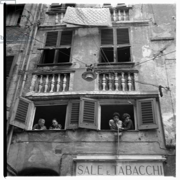Italian building, c.1965 (b/w photo)